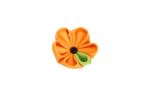 Orange & Green Lapel Push Pin