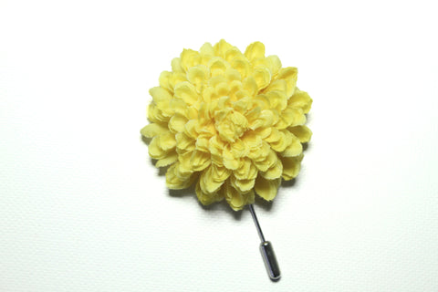 Yellow Lapel Stick Pin