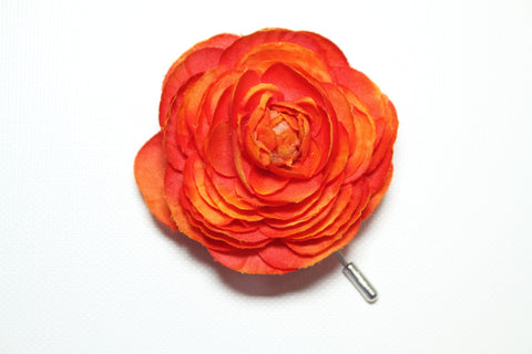 Orange Lapel Stick Pin