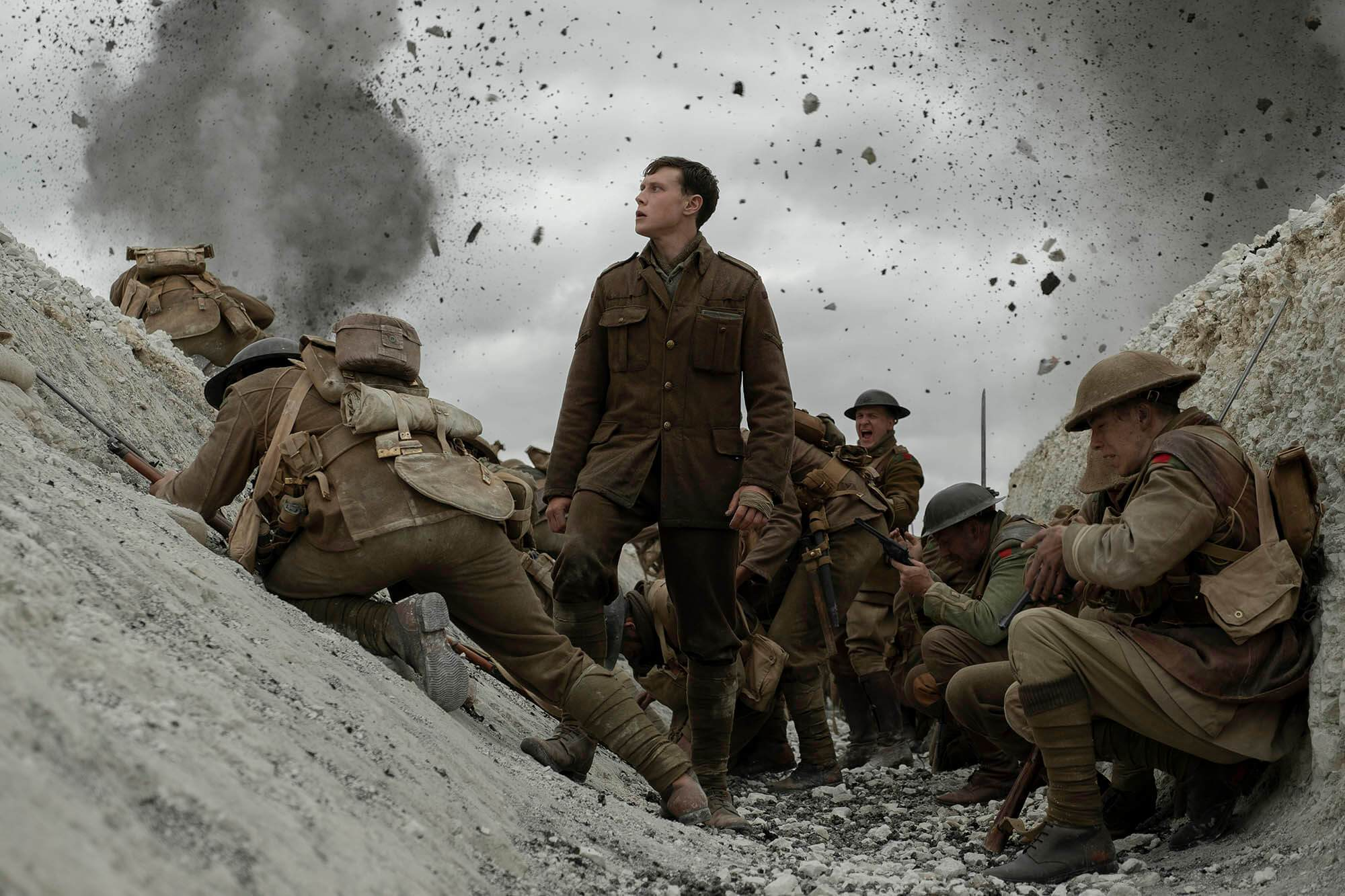 The Long-Awaited '1917' WWI Trailer is Finally Here