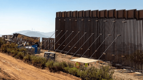 Trump Speeds Up Border Wall Construction