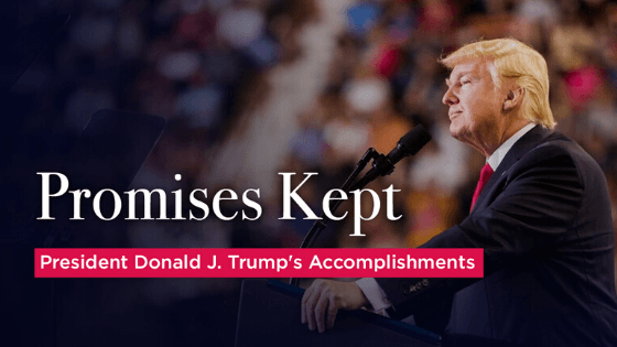 President Trump's Top 5 Accomplishments in 2019