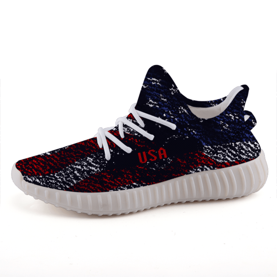 Veteran American Military Flag Patriotic A3 Boost Shoes - $ 94.95
