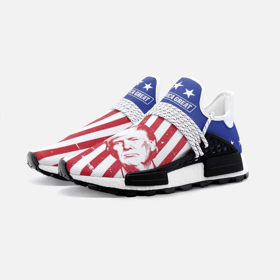 Keep America Great Patriotic Trump 2k Nomad Shoes