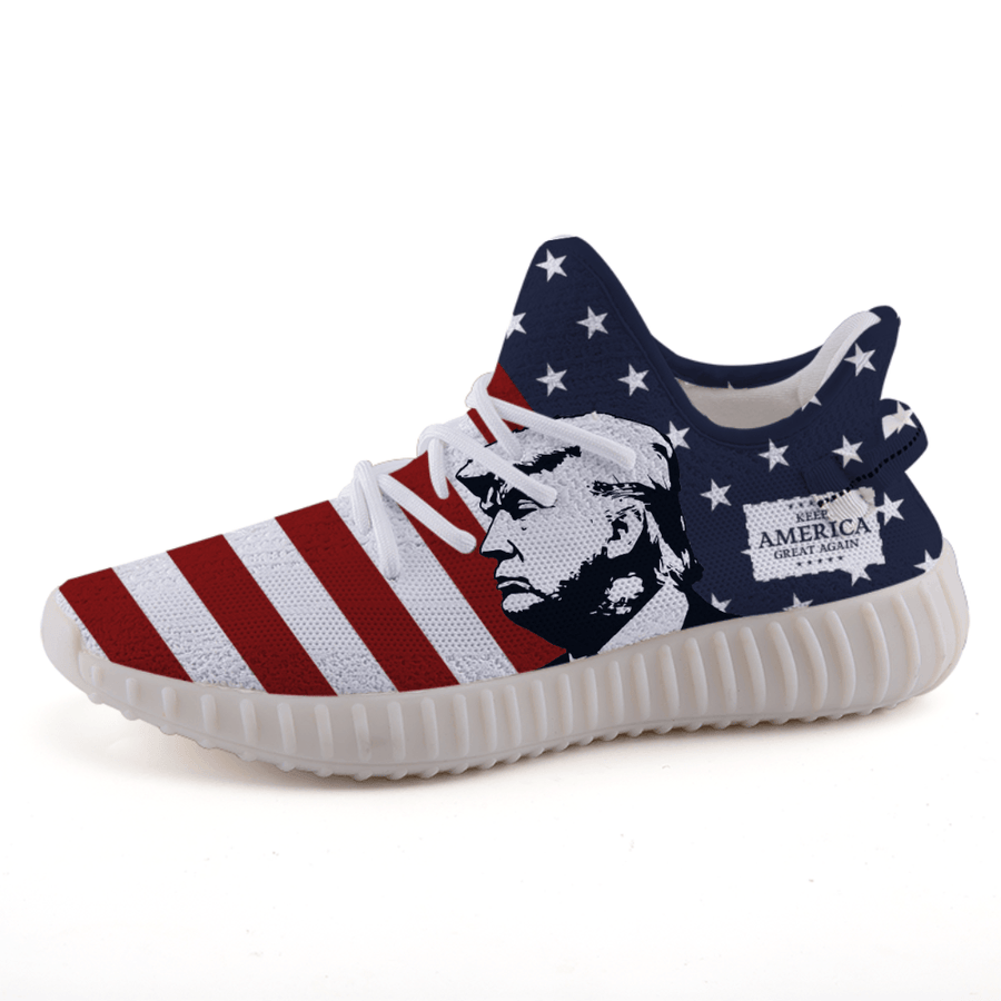 2020 Trump Keep America Great Again Patriotic A3 Boost Shoes - $ 94.95