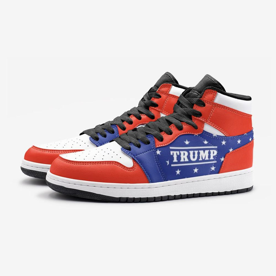 Trump Stars Stripes Patriotic Flag Space Force 1 Shoes - $ 99.00