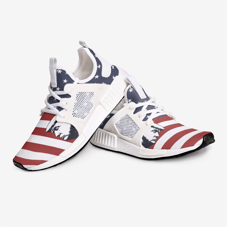 Keep American Great President Trump American Flag Patriotic Nomad Shoes - $ 94.95