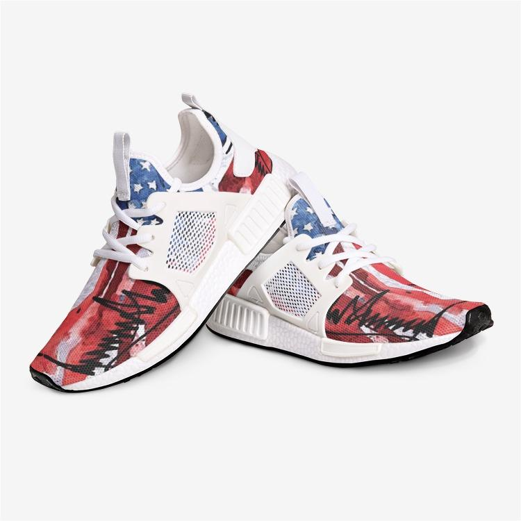 President Trump American Flag Signature Collection Patriotic Nomad Shoes