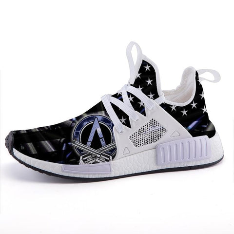 2nd Amendment Bullet Flag Sport Sneakers - $ 79.95