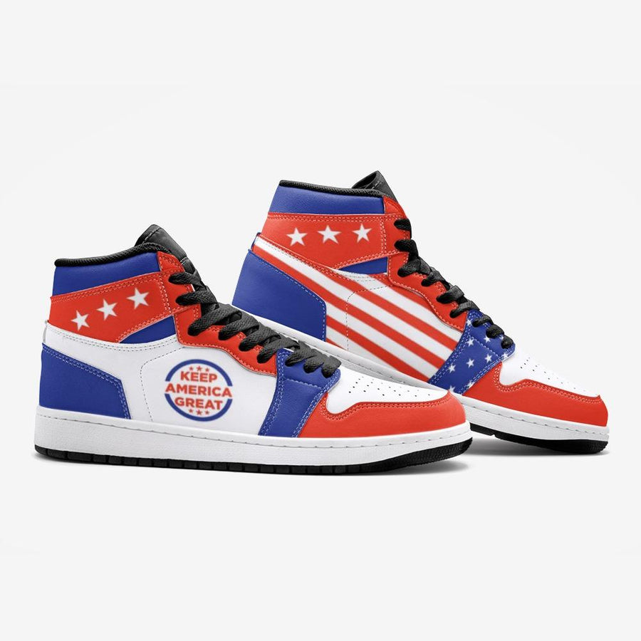 Patriotic Keep America Great Flag Space Force 1 Shoes - $ 99.00
