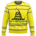 Don't Tread On Me Premium Ugly Christmas Sweater - $ 49.00