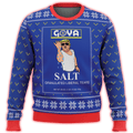 Goya Salt Liberal Tears Premium Ugly Christmas Sweater