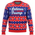 Latinos For Trump Premium Ugly Christmas Sweater - $ 49.00