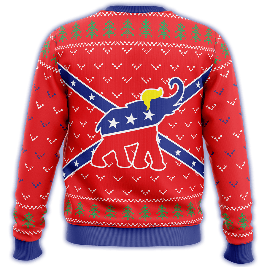 Republican Flag Premium Ugly Christmas Sweater - $ 49.00