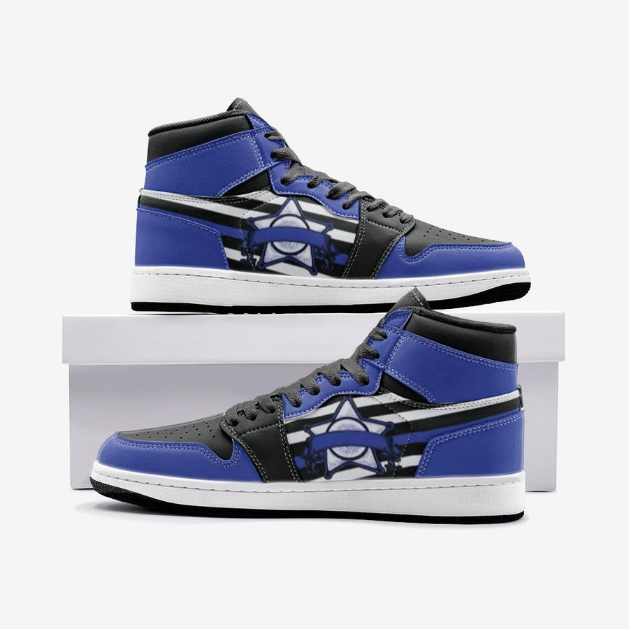 Blue Line Patriotic Police Batch Space Force 1 Shoes