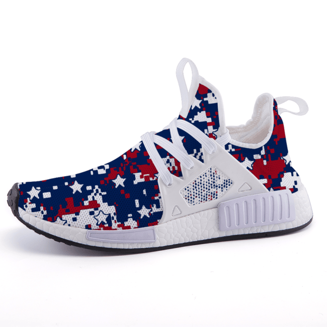 Splatter Roger Patriotic Nomad Shoes