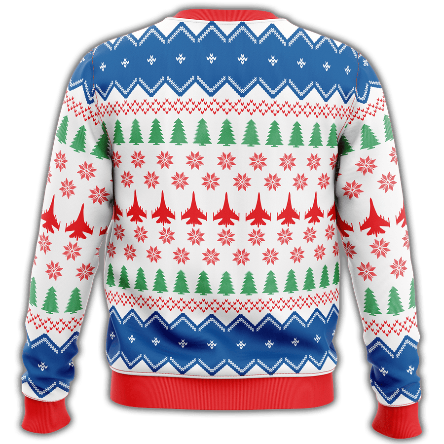 US Air Force Premium Ugly Christmas Sweater - $ 49.00