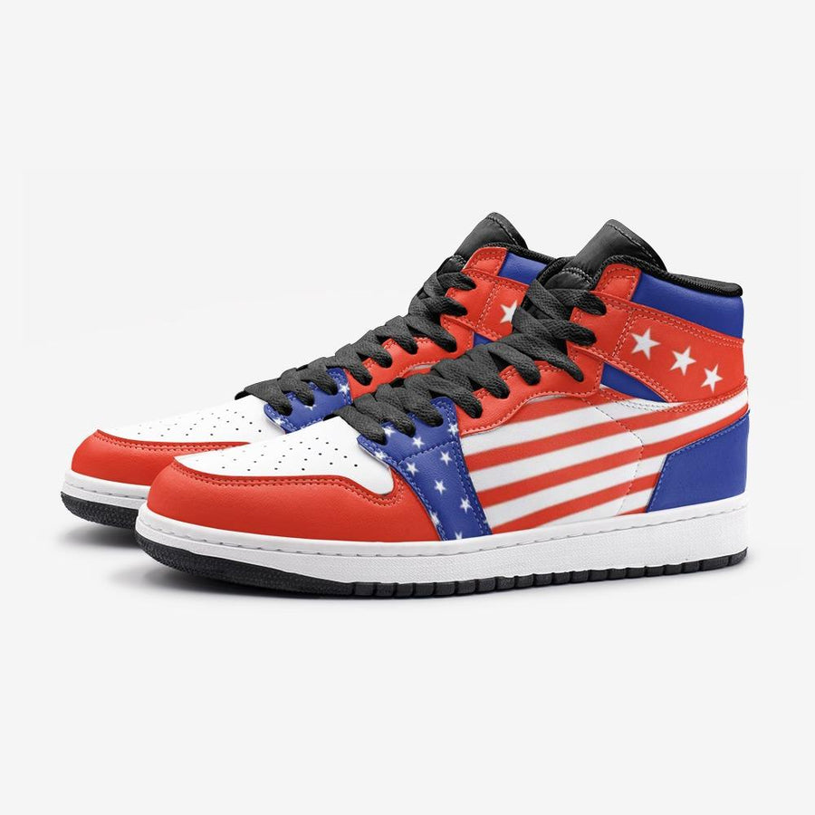 American Flag Patriotic 4th Of July Space Force 1 Shoes