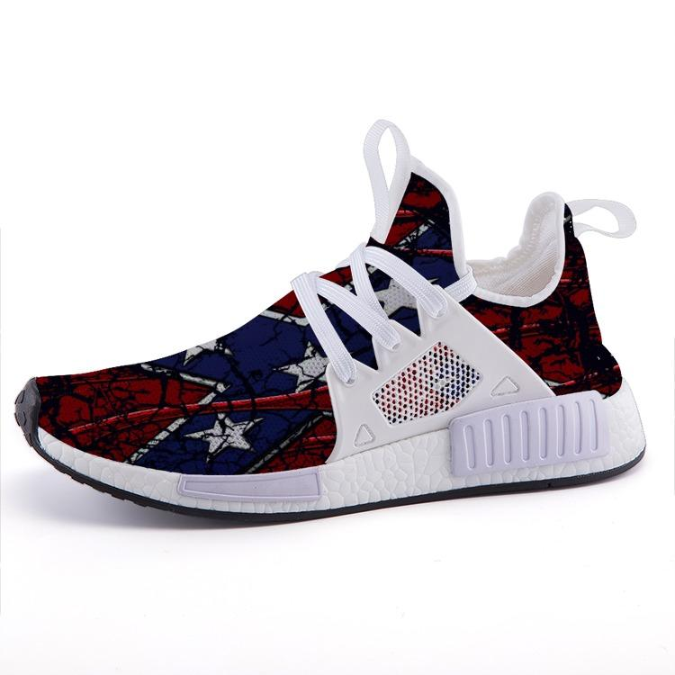 The Fourth Flag The South Patriotic American Veterans Nomad Shoes - $ 89.00