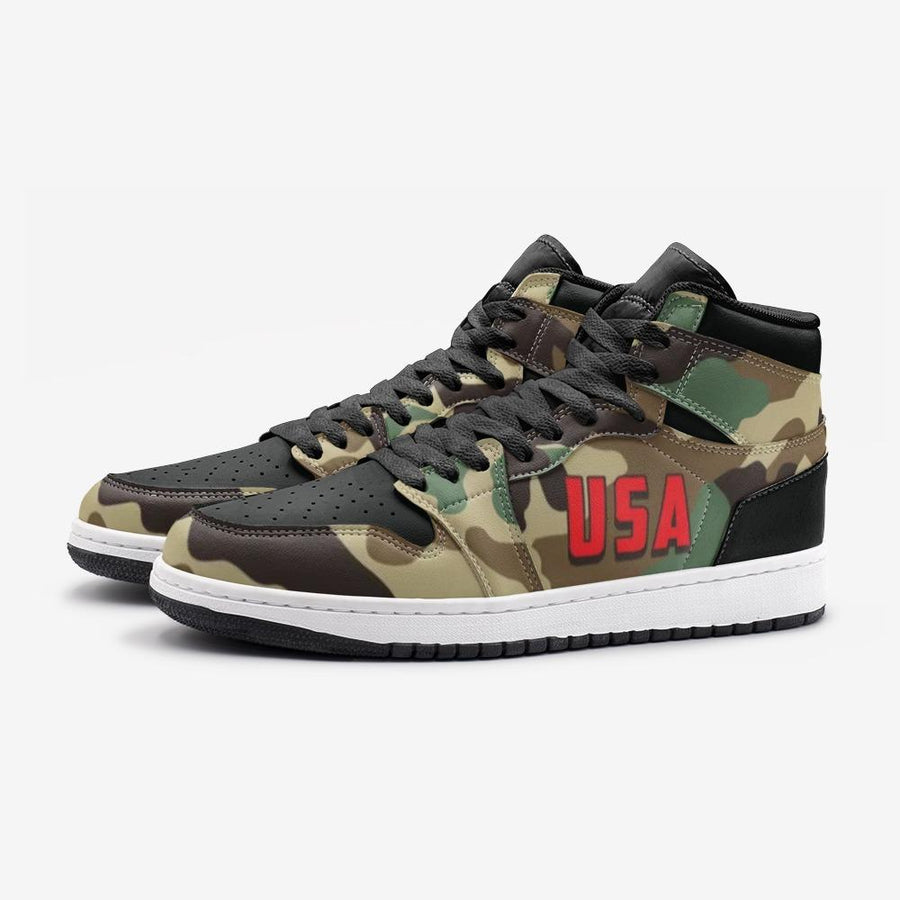 Military Camo USA Space Force 1 Shoes