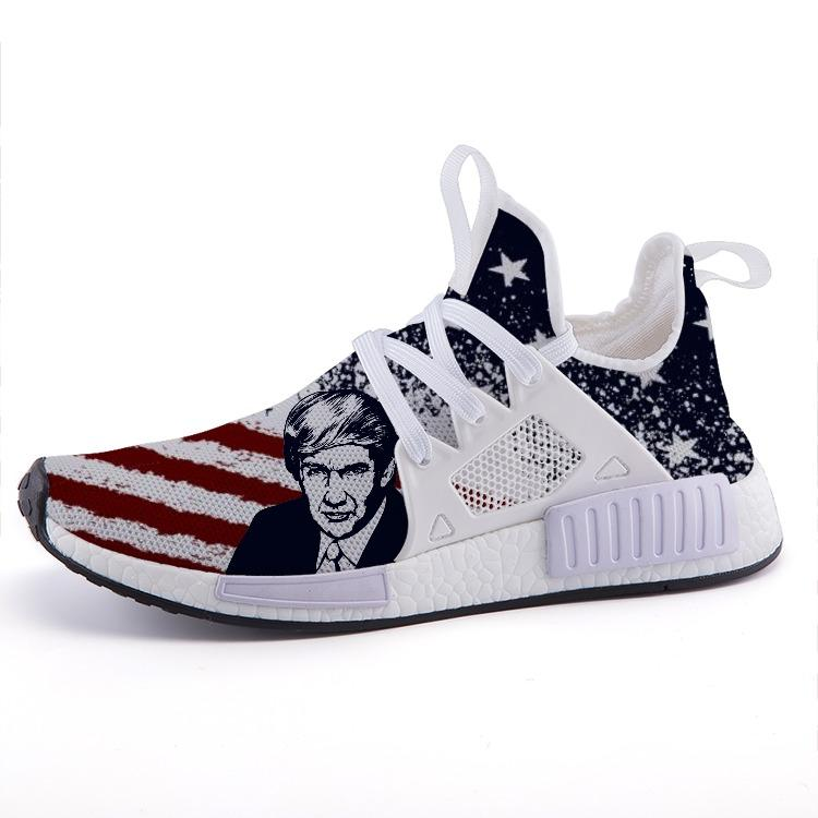 2020 President Trump Patriotic American Flag Sport Nomad Shoes - $ 89.00