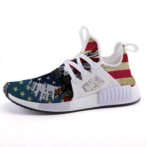 2nd Amendment Eagle US Flag Inspired Sport Sneakers - $ 79.95