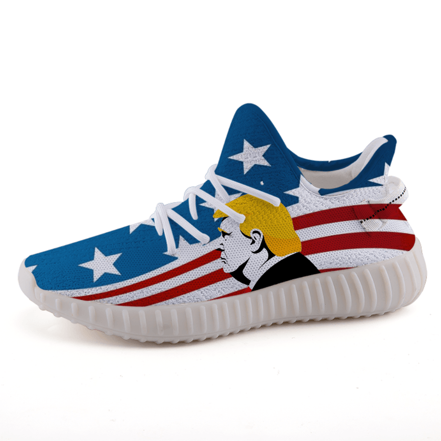 Trump USA Patriotic Stars Stripes 365 Boost A3 Shoes 2020 - $ 94.95