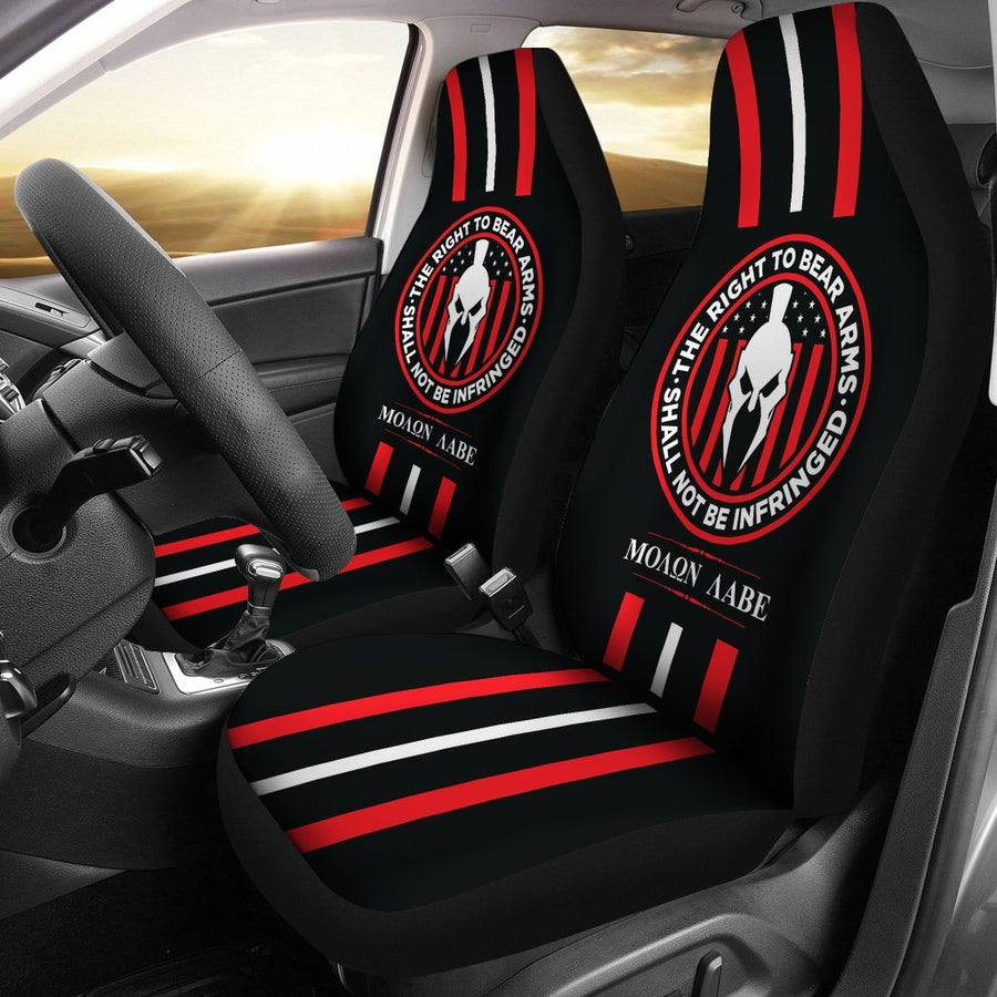 Molon Labe The Right To Bear Arms 2nd Amendment Car Seat Cover - $ 84.95
