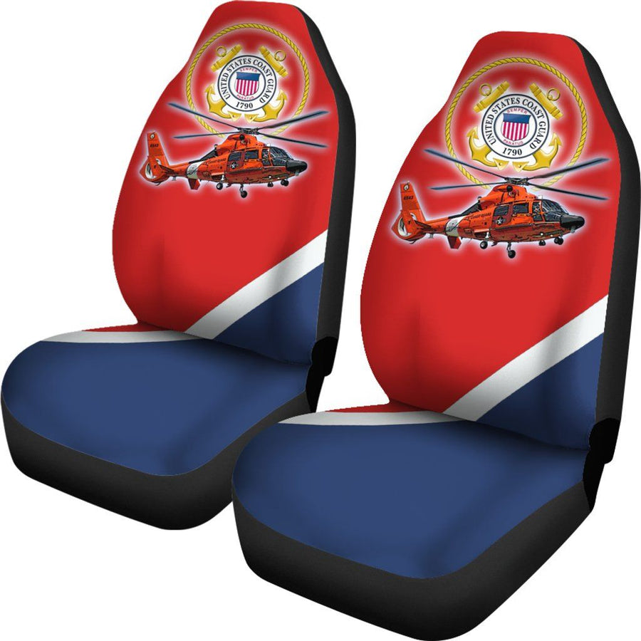 Military Coast Guard Car Seat Covers Set Of 2