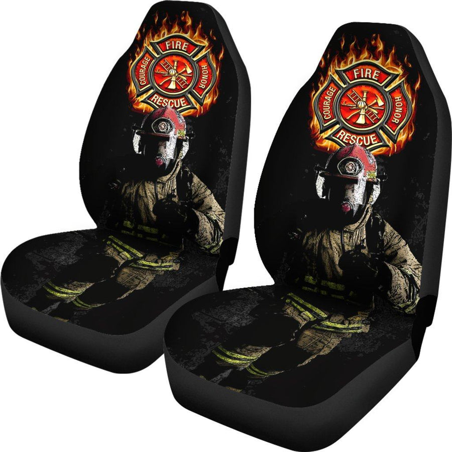 First Responders Firefighter Car Seat Covers Set Of 2 - $ 79.95