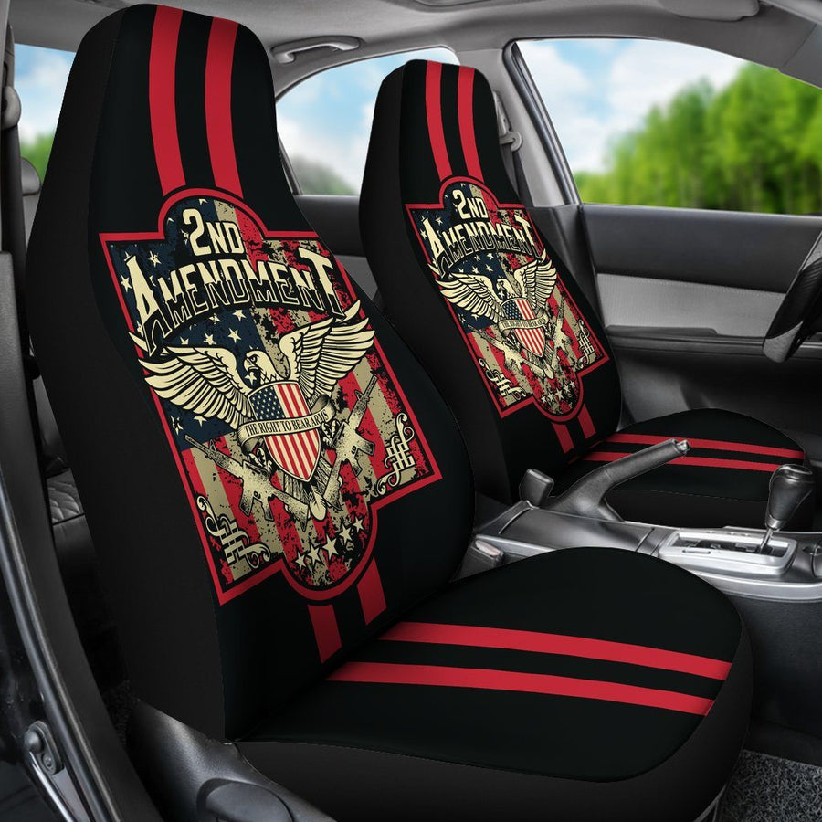 2nd Amendment The right to bear arms Car Seat Cover