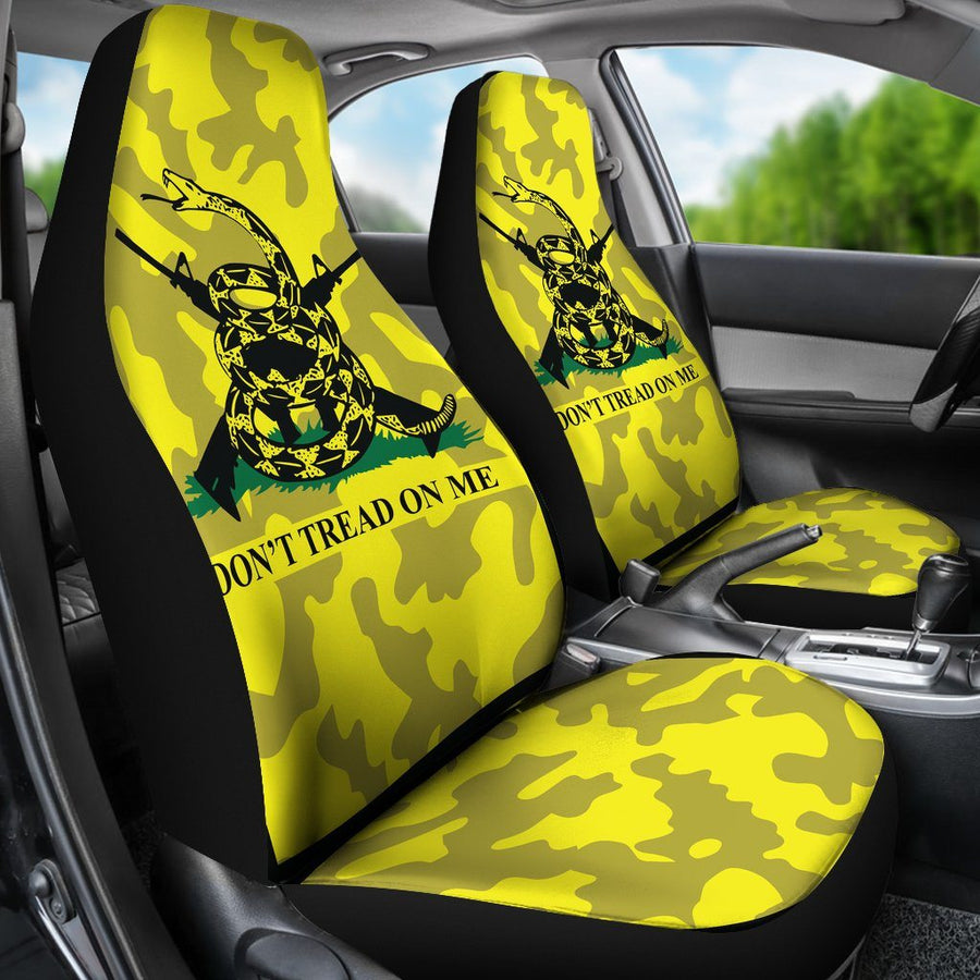 2nd Amendment Don't Tread On Me Car Seat Covers