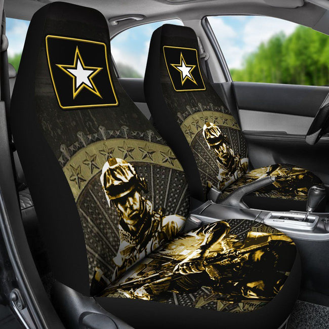 US Army Car Seat Covers Set Of 2