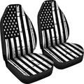 Black And White Stars Stripes Car Seat Covers Set Of 2 - $ 79.95