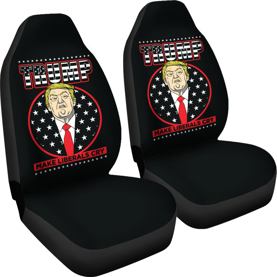 Trump Make Liberals Cry Car Seat Covers - $ 84.95