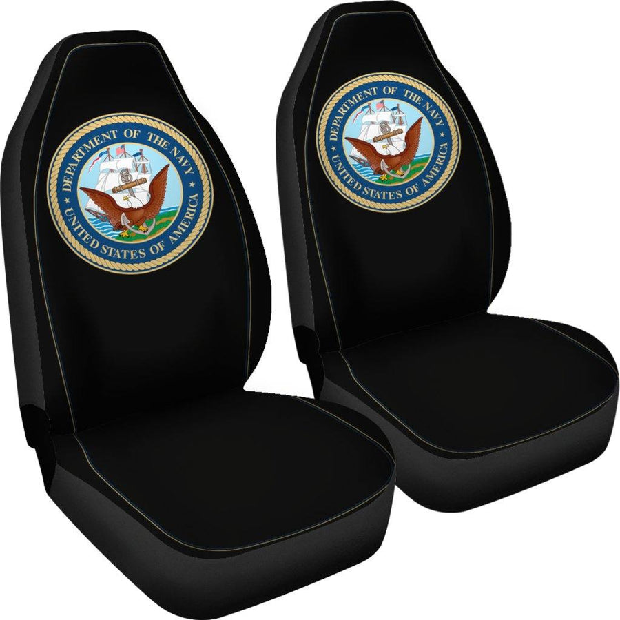 Navy Military Car Seat Covers Set Of 2 - $ 79.95