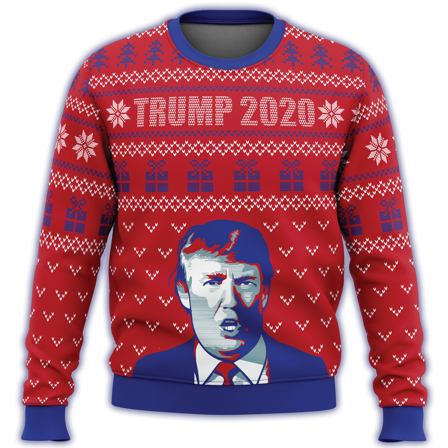 Trump 2020 Premium Ugly Christmas Sweater - $ 49.00