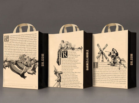 Barnes-noble-shopping-bag-design
