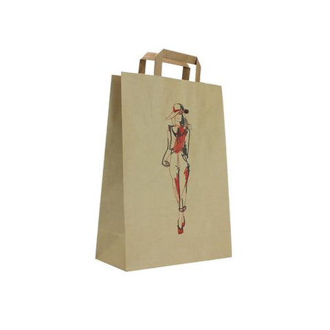 Caretta Chic Art Paper Bag