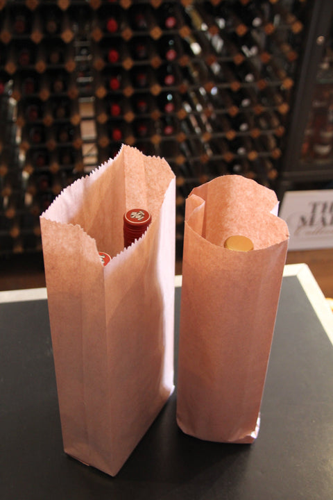Caretta Paper Bottle Bags
