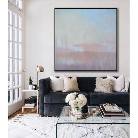 Abstract Landscape Oil Painting #LX26A-Abstract Art-CZ Art Design(Celine Ziang Art)