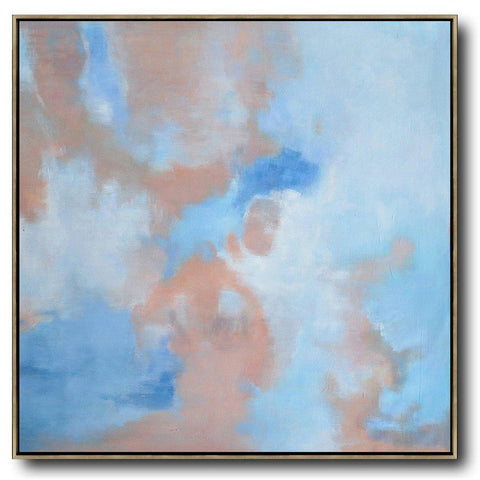 Abstract Landscape Oil Painting #LX31A-Abstract Art-CZ Art Design(Celine Ziang Art)