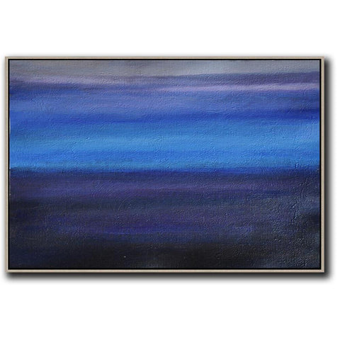 Horizontal Abstract Art #DH24C-Abstract Art-CZ Art Design(Celine Ziang Art)