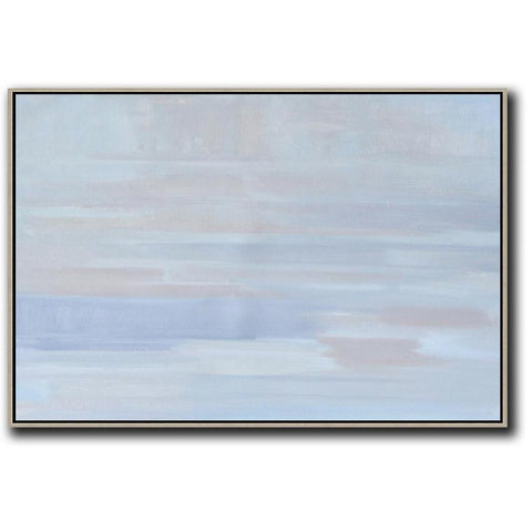Horizontal Abstract Landscape Painting #LX25C-Abstract Art-CZ Art Design(Celine Ziang Art)