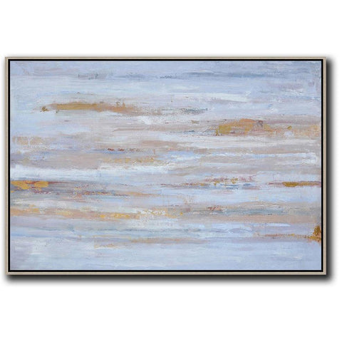 Horizontal Abstract Landscape Painting #LX27C-Abstract Art-CZ Art Design(Celine Ziang Art)