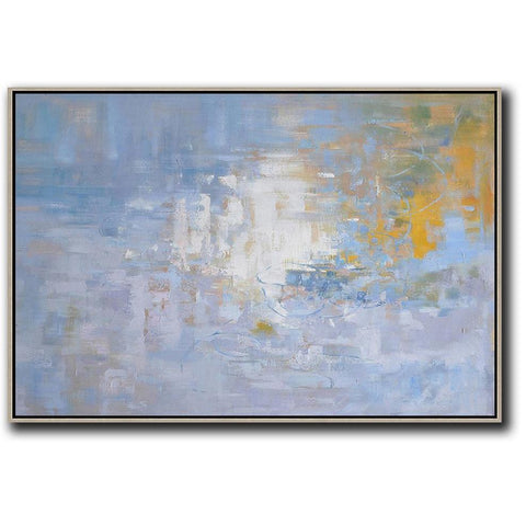 Horizontal Abstract Landscape Painting #LX30C-Abstract Art-CZ Art Design(Celine Ziang Art)