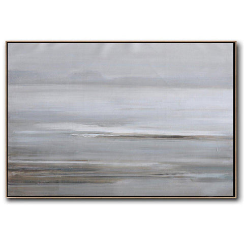Horizontal Abstract Landscape Painting #LX73C-Abstract Art-CZ Art Design(Celine Ziang Art)