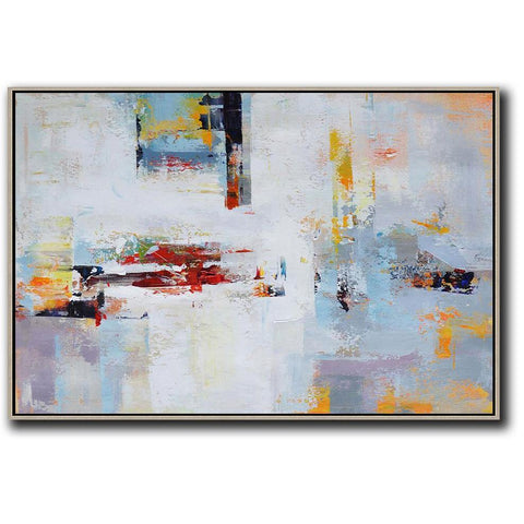 Horizontal Palette Knife Contemporary Art #C5C-Contemporary Art-CZ Art Design(Celine Ziang Art)