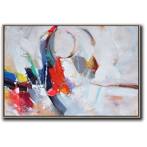Horizontal Palette Knife Contemporary Art #C8C-Contemporary Art-CZ Art Design(Celine Ziang Art)