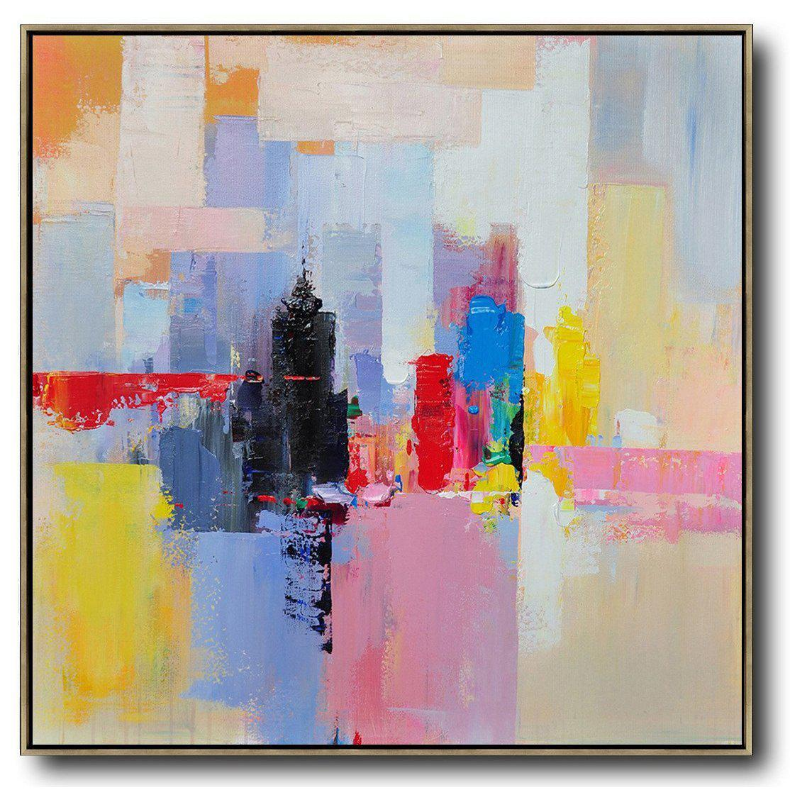 Palette Knife Abstract Art C31a